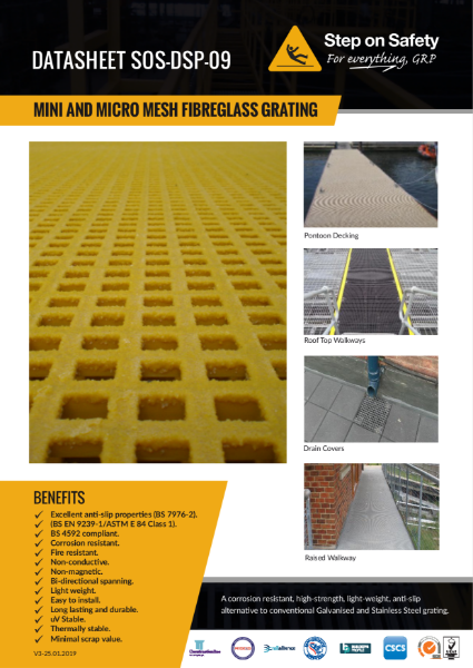GRP Micro Mess Grating
