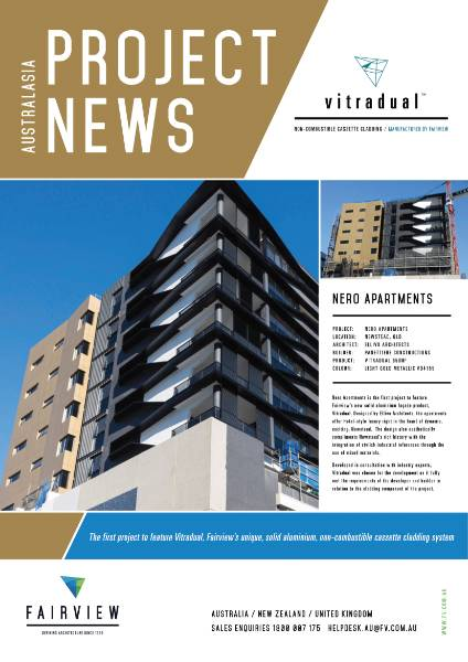 QLD Nero Apartments Project News