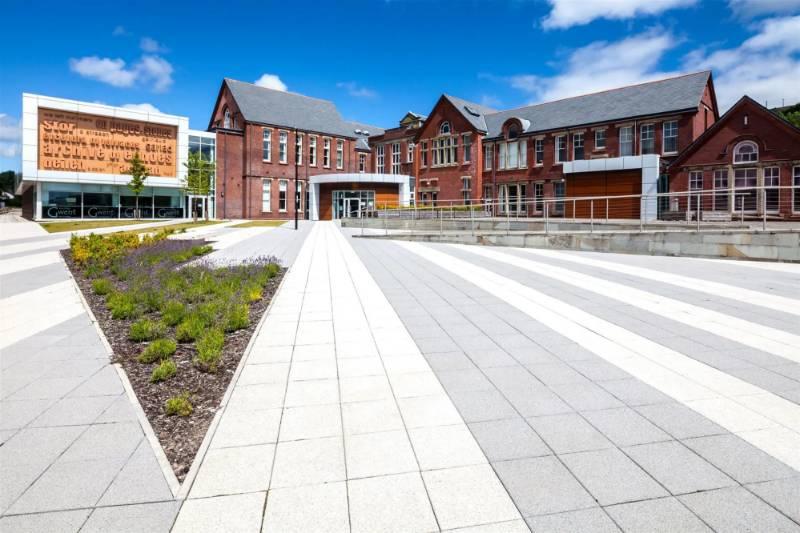 Ebbw Vale College Square
