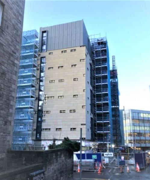 2,000 m2 LiteFlo® Lightweight Screed floor | Hotel in Edinburgh | IFT
