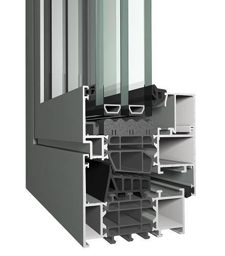 Aluminium Window MasterLine 8 System