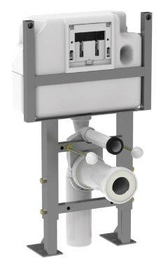 Low Height WC Frame BCU790 Self Supporting