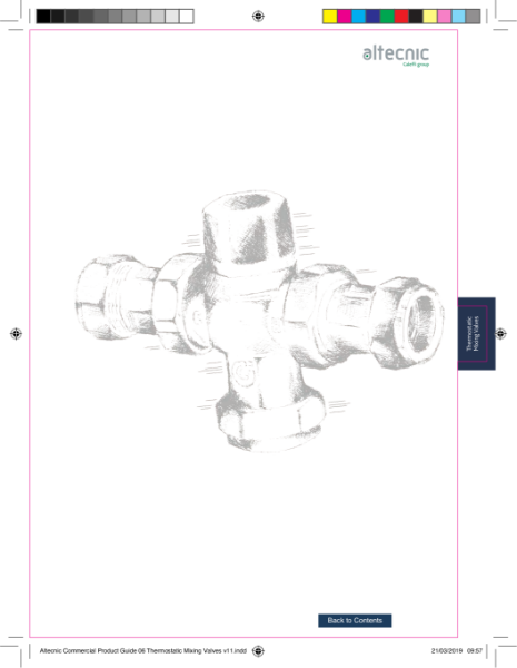 Thermostatic Mixing Valves - Altecnic Commercial Guide