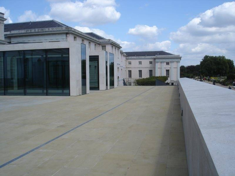 FOAMGLAS® T4+ tapered insulation for National Maritime Museum roof