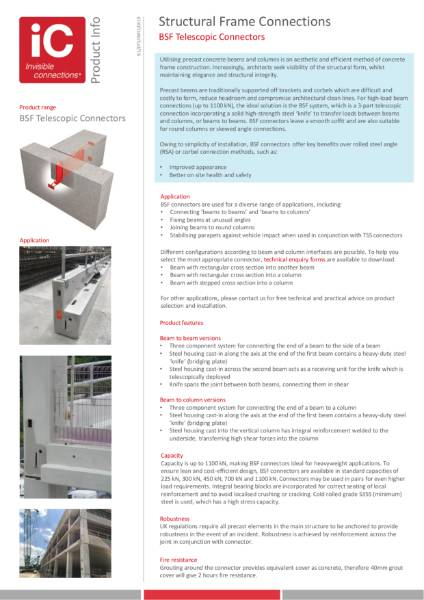 BSF Product Information