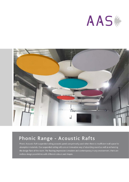 Phonic - Acoustic Rafts
