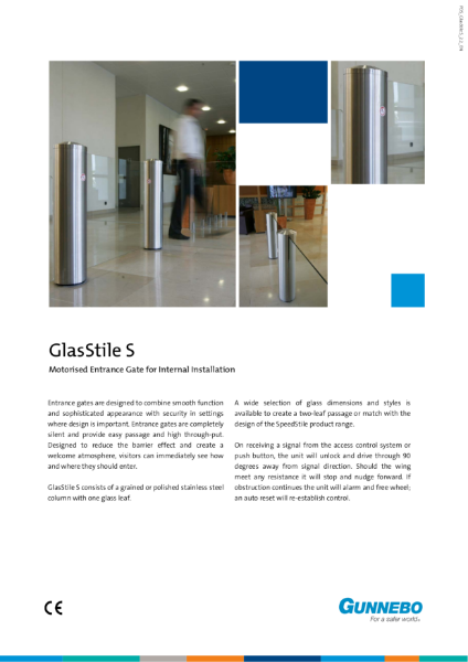 Entrance Gate - GlasStile S