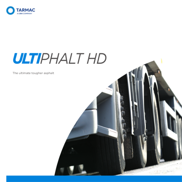 Heavy duty asphalt - Tarmac Ultiphalt HD