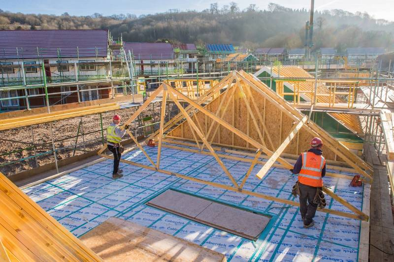 Norbord helps housing development for UK troops