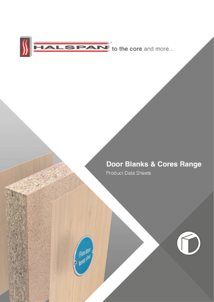 Halspan Door Blanks Range Brochure