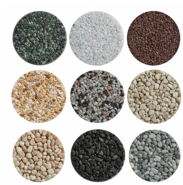 Marble Resin Bound Permeable Paving