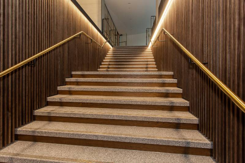 Slatted Timber Features in Premium Residential Design