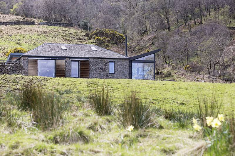 Conservation and Flat Roof Windows - Loch Lomond