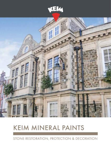 Keim Mineral Paints - Stone Brochure