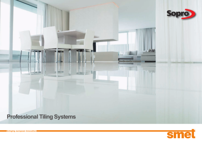 SMET Professional Tiling Systems Brochure