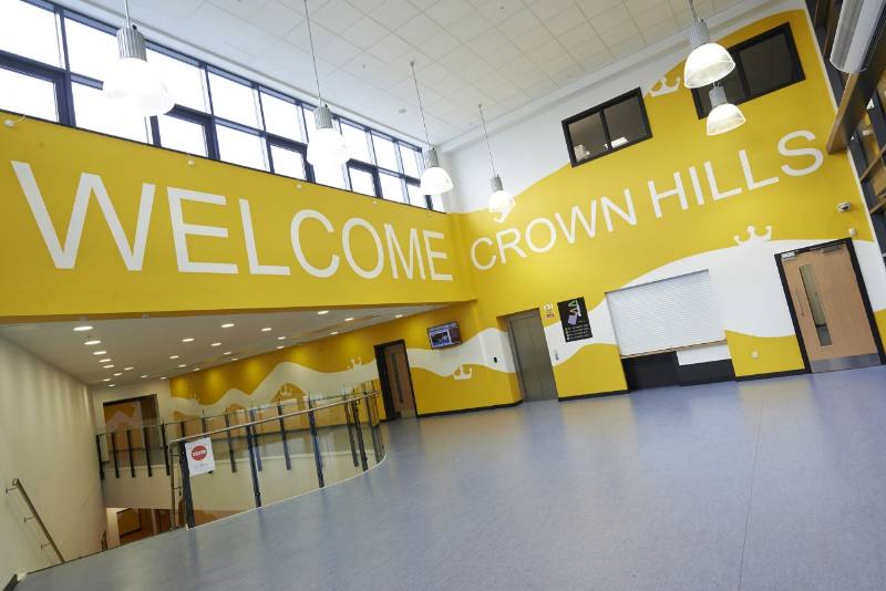 Crown Hills Community College - Leicester
