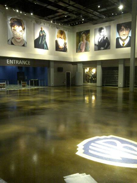 Resuseal WB Clear provides clear concrete protective seal at the Warner Brothers Harry Potter Studio Tour