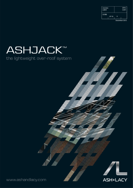 AshJack™ - The Lightweight Over Roof System