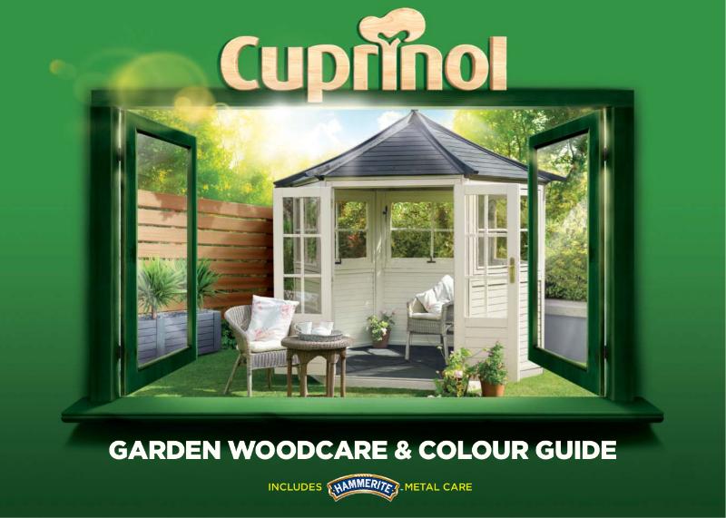 Cuprinol Garden Woodcare & Colour Guide