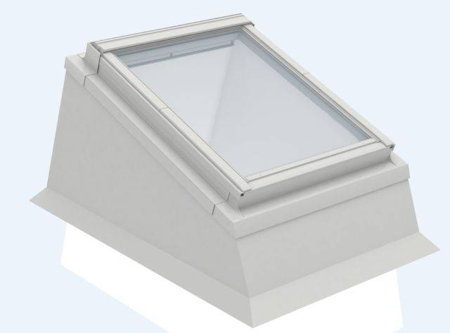 ECX insulated flat roof kerb