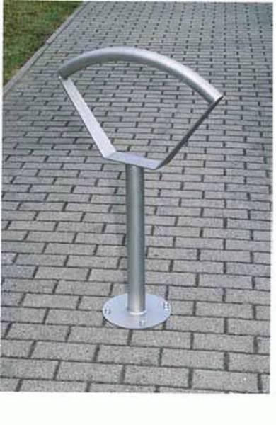 Sineu Graff Bow Cycle Stand - Galvanized Steel