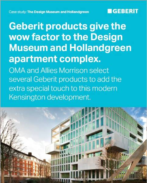 The Design Museum and Hollandgreen
