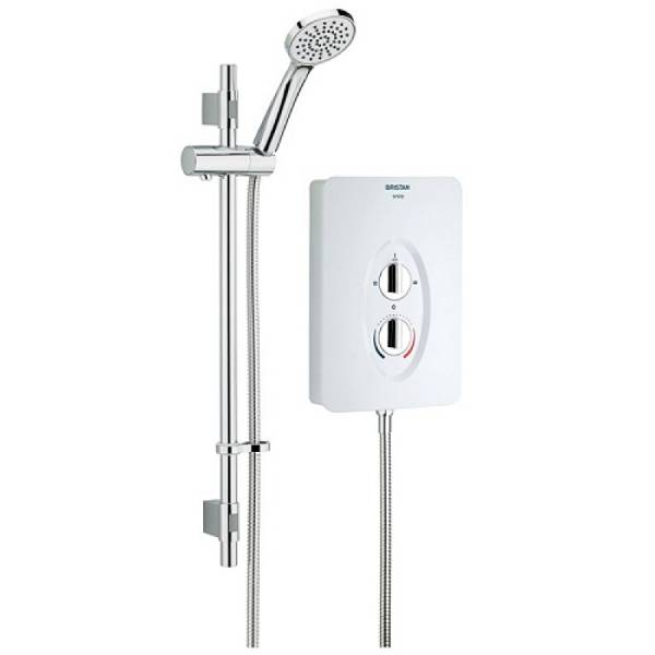 Joy Care 9.5 kW Electric Shower Lever 1000 mm Rail