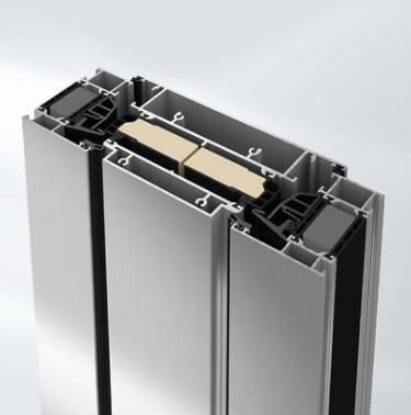 Super insulated ventilation vent aluminium window system - AWS90VV.SI