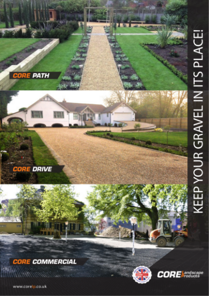CORE DRIVE Gravel Stabiliser Product Brochure