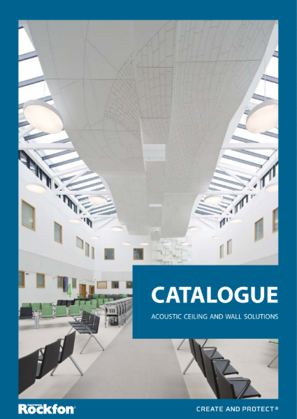 Rockfon Complete Product Catalogue for suspended acoustic ceilings and walls