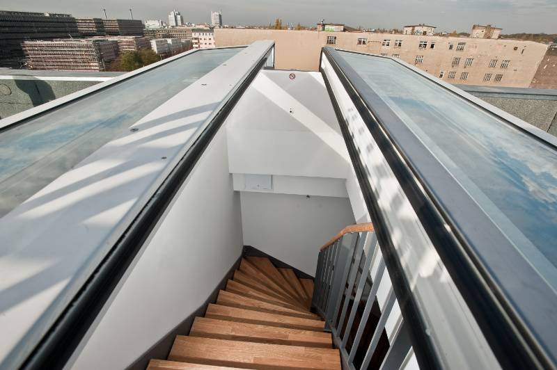 Flat Roof Access Duo
