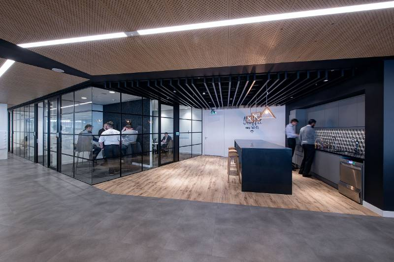 The Shard: Acoustic Ceilings and Bespoke Design