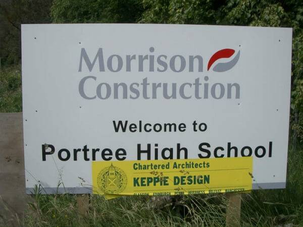 Portree School : ECOSCREED Thermal M13 TF