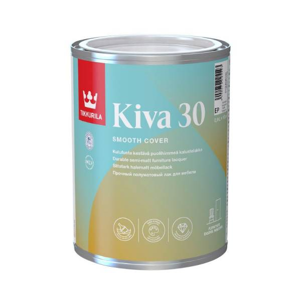 Kiva 30 - Semi-Matt Furniture Lacquer