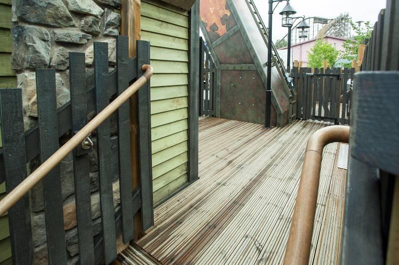 Decking - Liseberg theme park