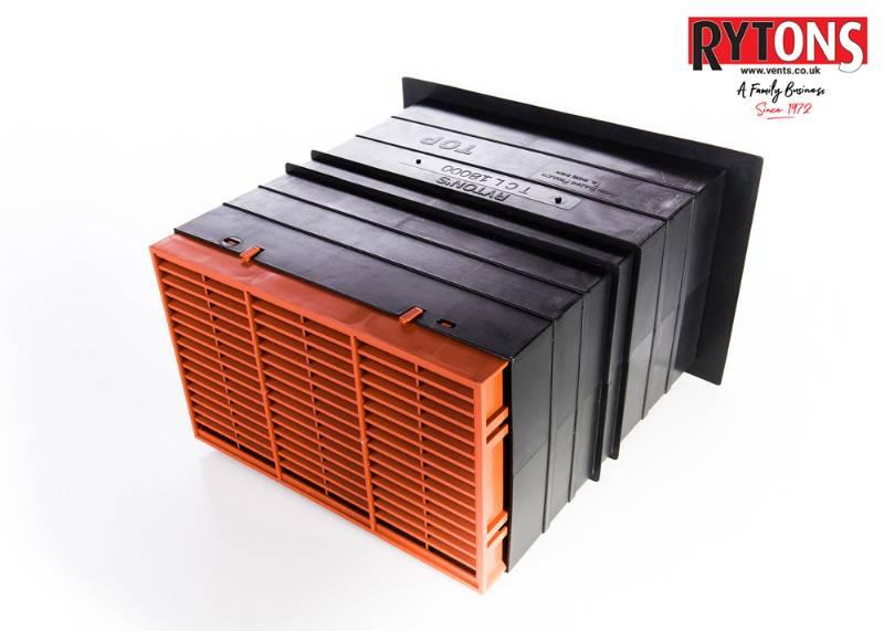 TCL18 - Rytons 9 x 6 Ventilation Set with Flush Louvre Ventilator