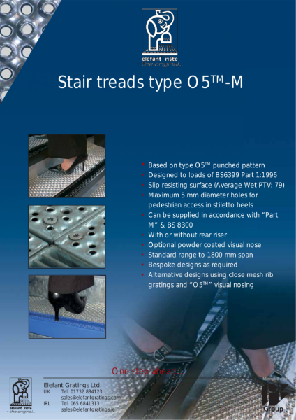 Stair Treads Type O5-M