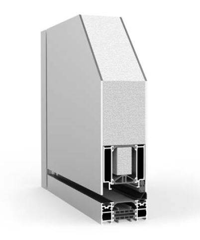 Pivot Single with Side Panel RK1200 - Doorset system