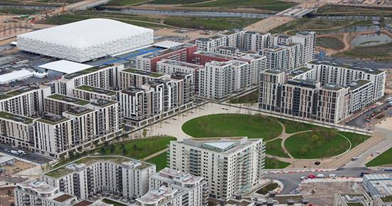 Exceeding performance criteria for London Olympics Village