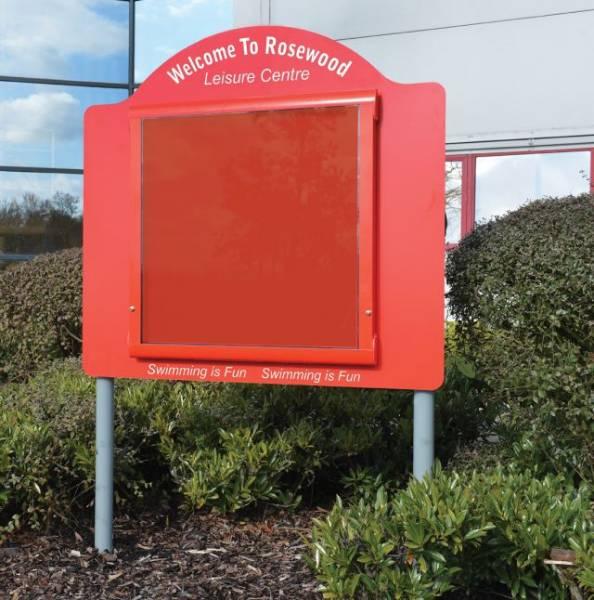 WeatherShield External School Sign