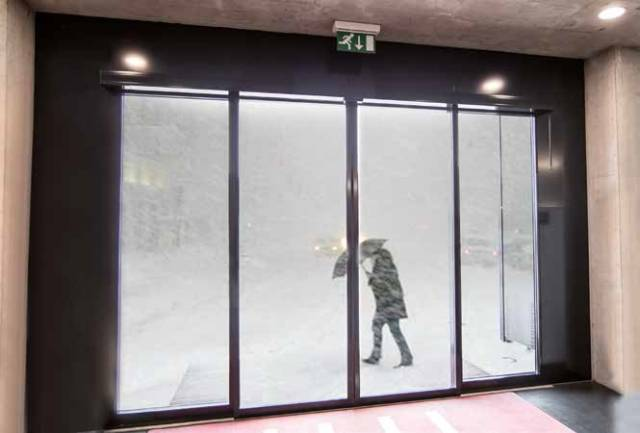 PST Insulated Automatic Sliding Door System