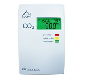 CO2MC – Carbon Dioxide, Temp & RH Monitor