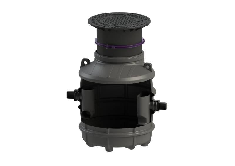KESSEL Grease Separator EasyClean Ground NS1 - NS4 Standard (frost free depth 1200mm)