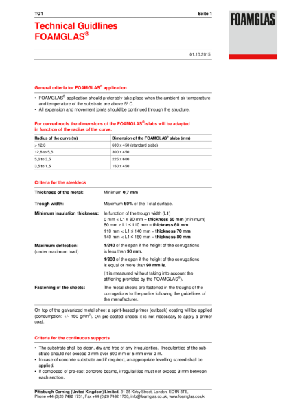 TG1 Technical Guide - Preparation of substrates