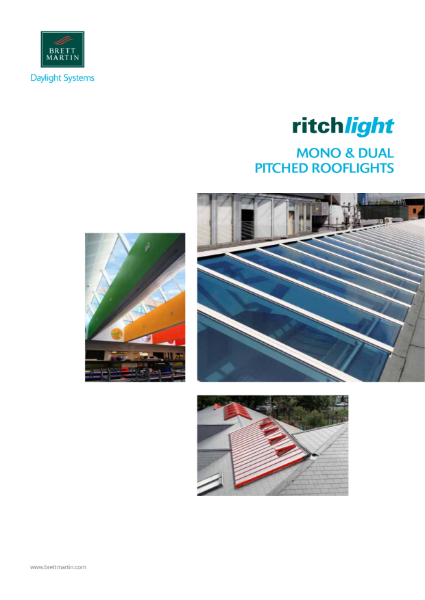 Mono & Dual Pitched Rooflight Glazing Systems