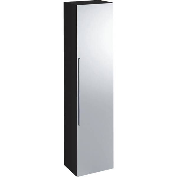 iCon tall cabinet with one door and external mirror