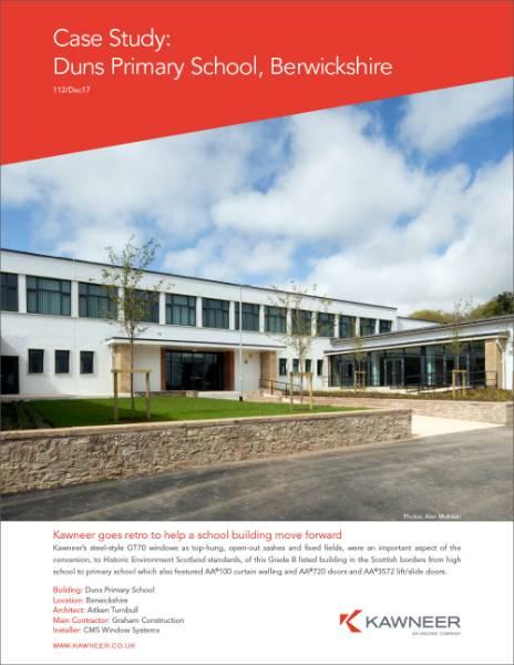 Duns Primary School, Berwickshire