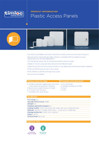 Timloc Access Panels