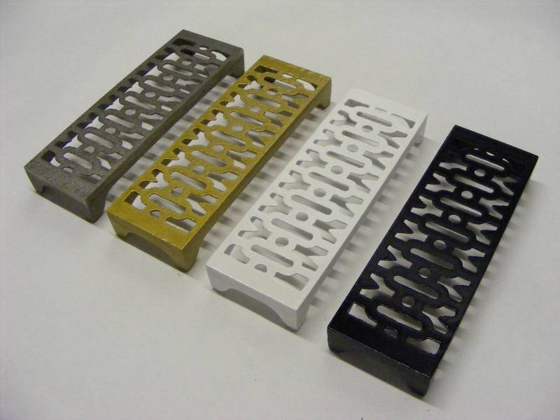 Architectural Cast Iron Ventilation Gratings and Grilles in any RAL colour