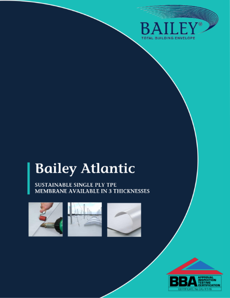 Bailey Atlantic: Sustainable, Flexible TPE Single Ply Membrane